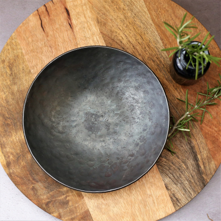 Plain Large Round Bowl