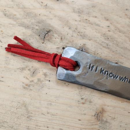 Red Tassel bookmark