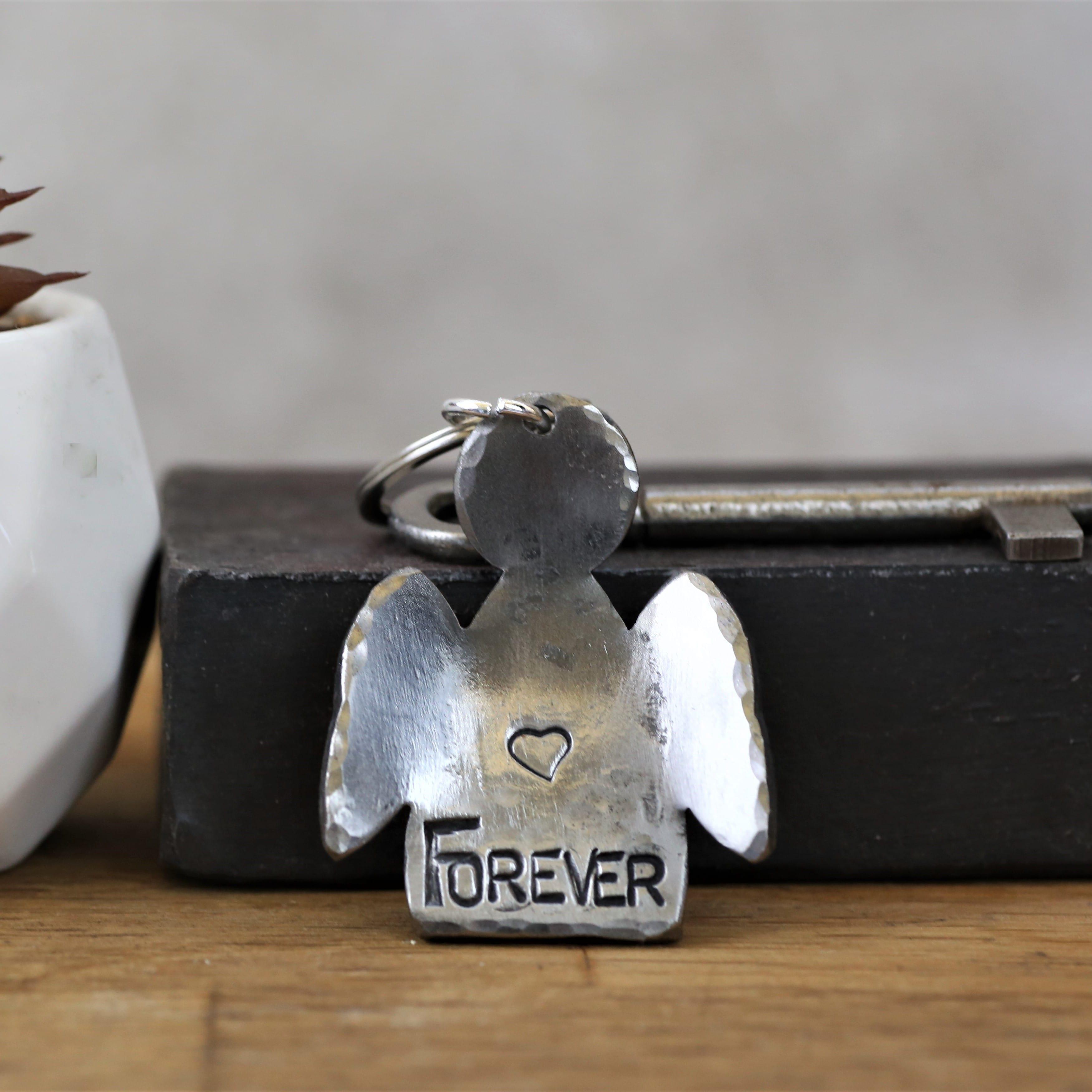 Forever Angel Key Ring