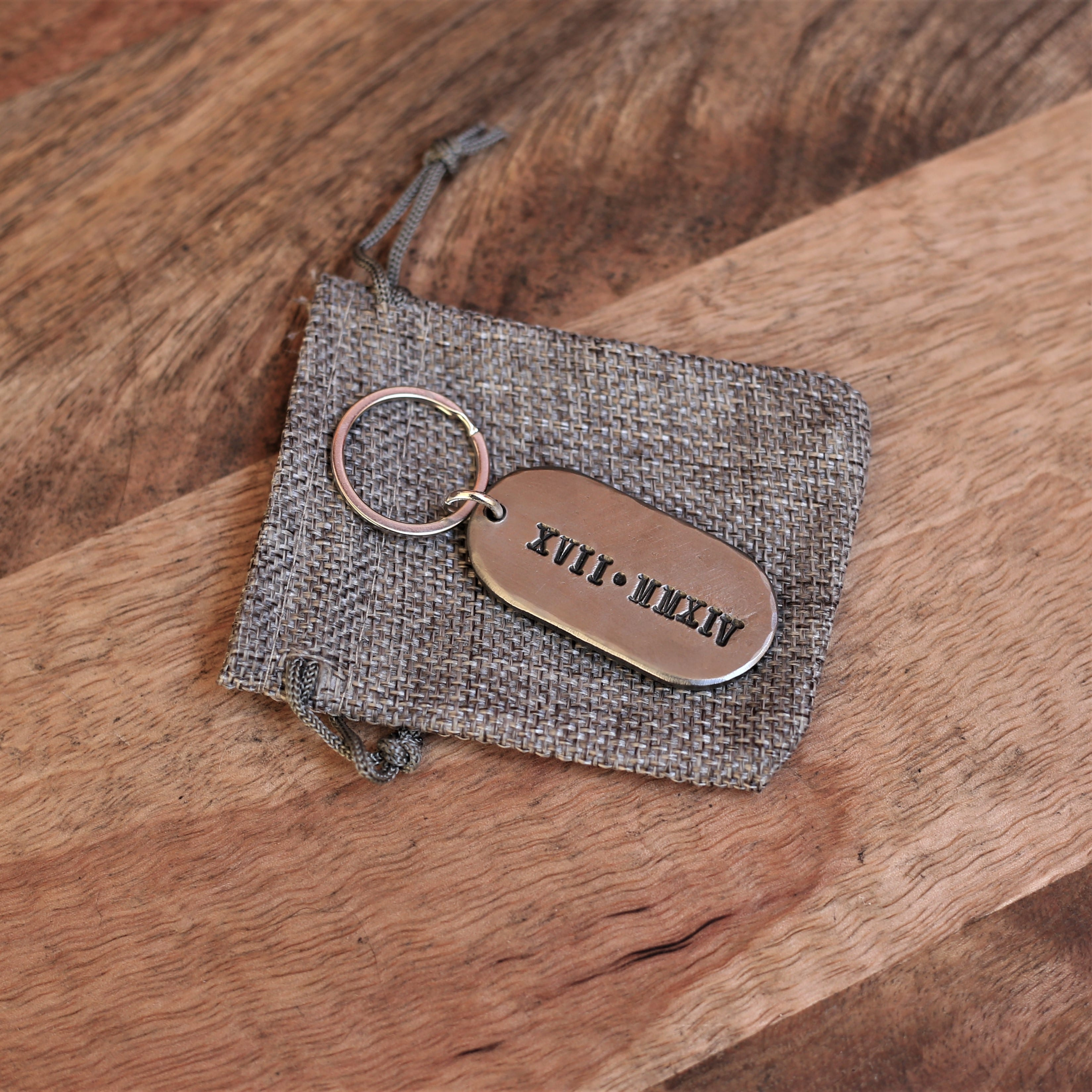 Key Ring packaging