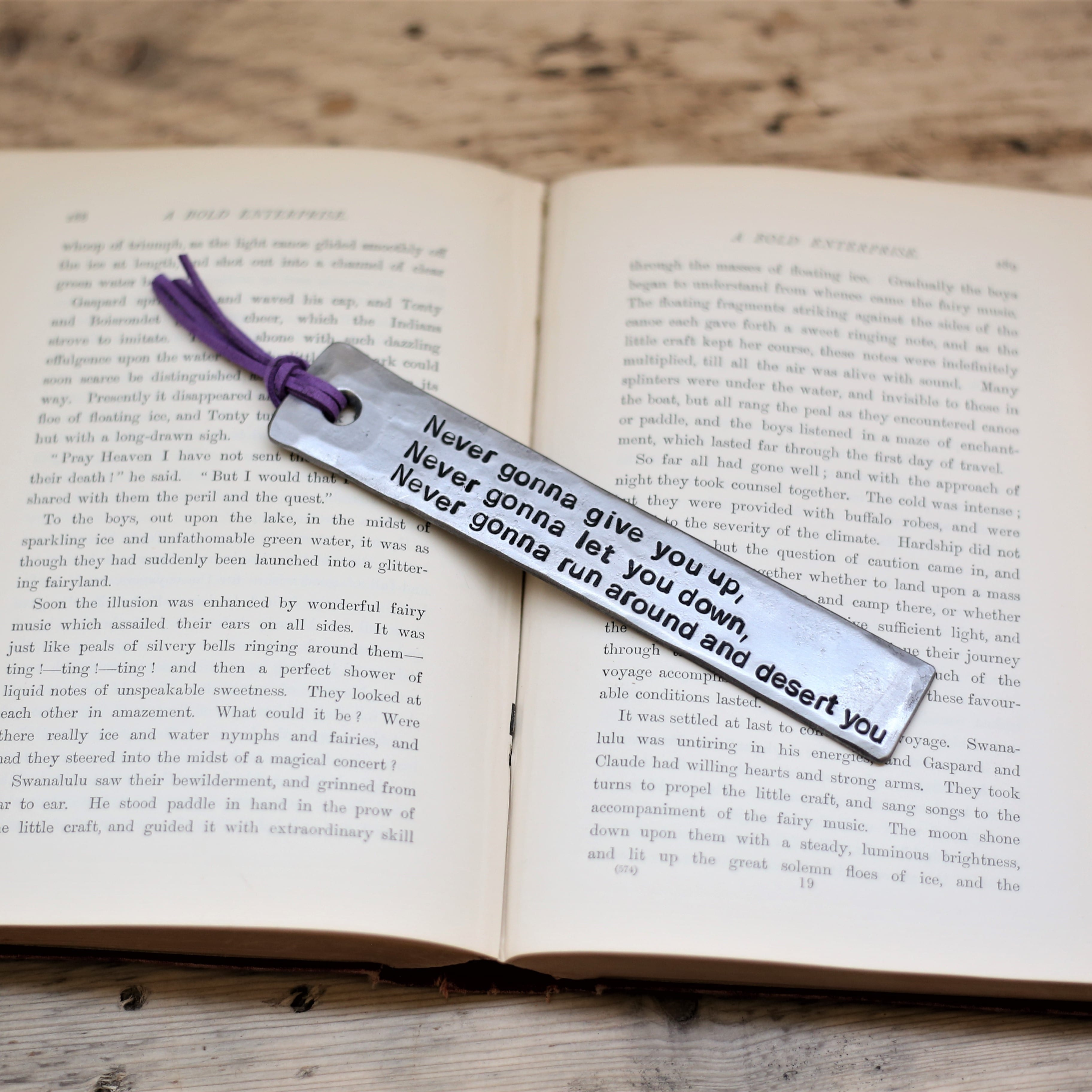 Music Inspired bookmark