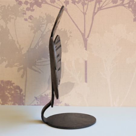 Profile of angel candle holder