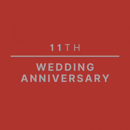 11th Wedding Anniversary