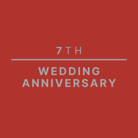 7th Wedding Anniversary