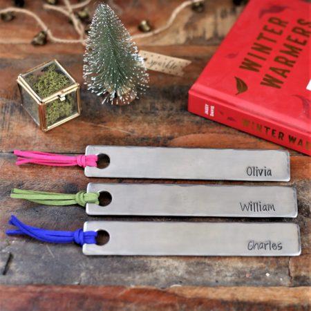 Christmas tassel bookmark